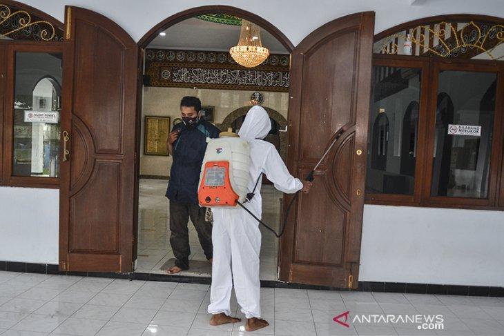 Kasus COVID-19 klaster masjid