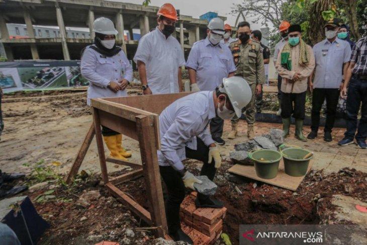 Kota Bogor mulai pembangunan Alun-alun dan lanjutkan bangun Masjid Agung
