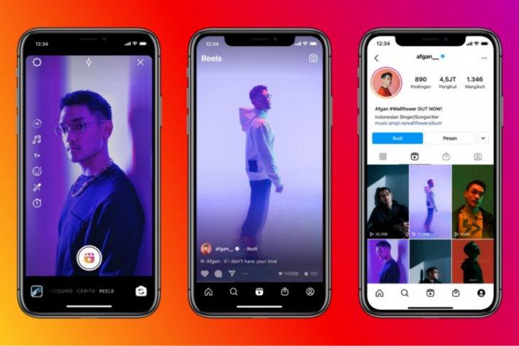 Instagram resmi  hadirkan Reels di Indonesia