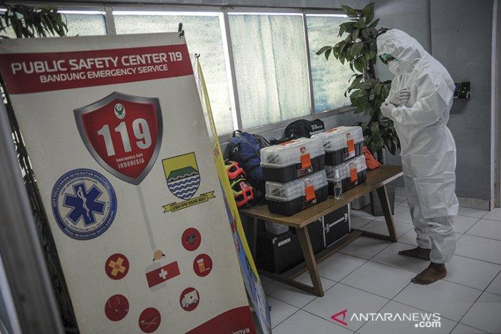 Unit pelayanan keselamatan darurat COVID-19 di Bandung