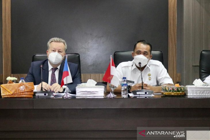 Menteri LH Ceko jajaki kerja sama dengan  Pemkot Medan