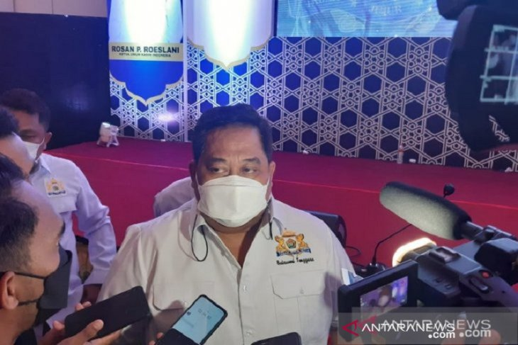 Presiden Jokowi akan buka Munas Kadin di pelataran Masjid Al Alam