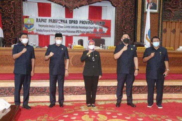 DPRD dengarkan jawaban Pj gubernur terkait pemandangan umum fraksi soal pelaksanaan APBD 2020