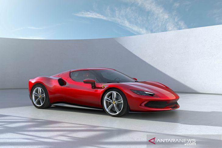 Ferrari luncurkan mobil sport hybrid 296 GTB