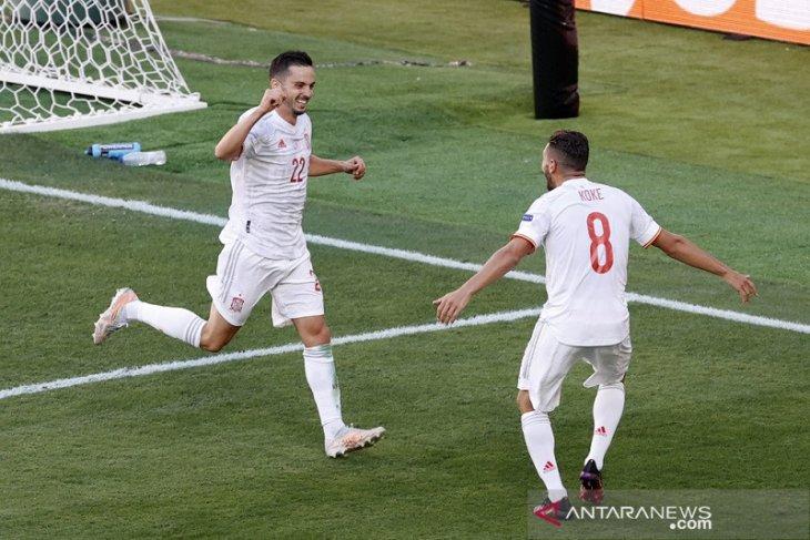 Euro 2020, Spanyol cukur Slovakia 5-0 menuju babak 16 besar