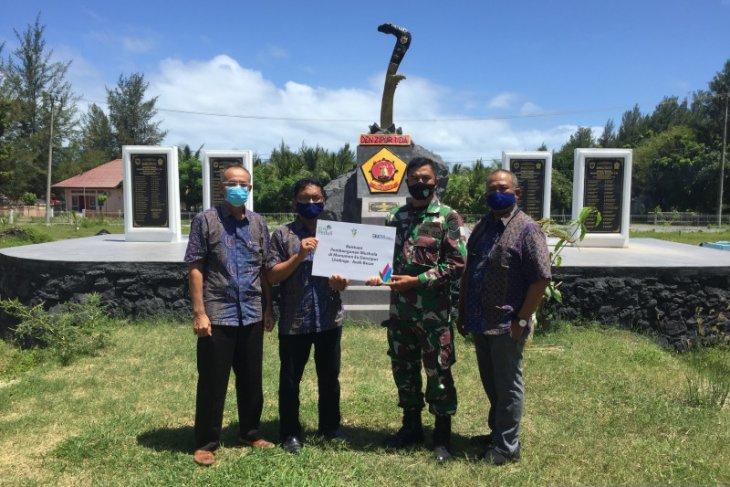 PLN UIW Aceh bantu pembangunan mushalla di monumen eks Denzipur Lhoknga