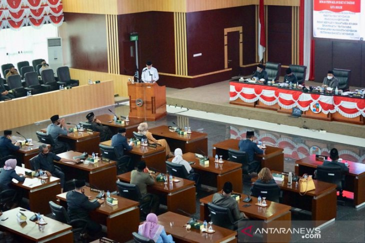 DPRD beri catatan pada Rancangan RKPD Kota Bogor 2022