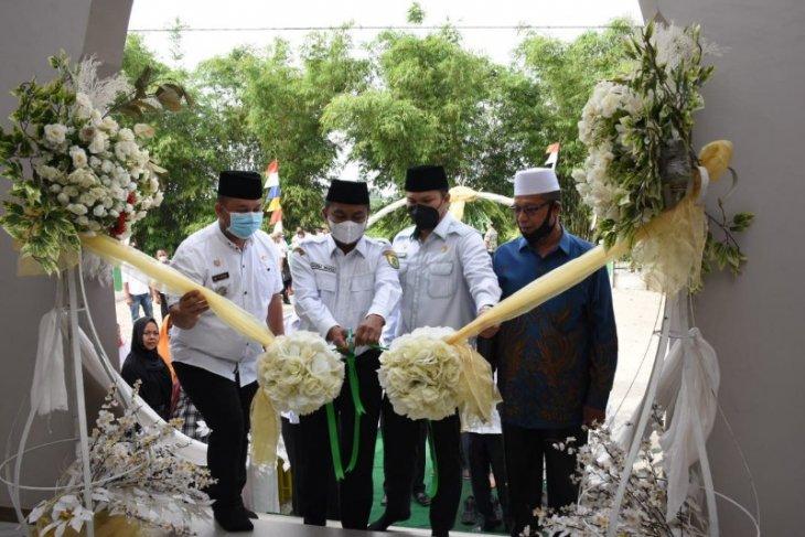 Resmikan masjid dan pembangunan jalan, Bupati Sergai ajak masyarakat bersyukur