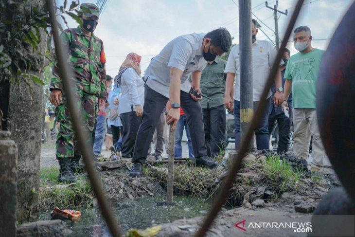 Pemkot Medan targetkan perbaiki  drainase 60 km tahun ini