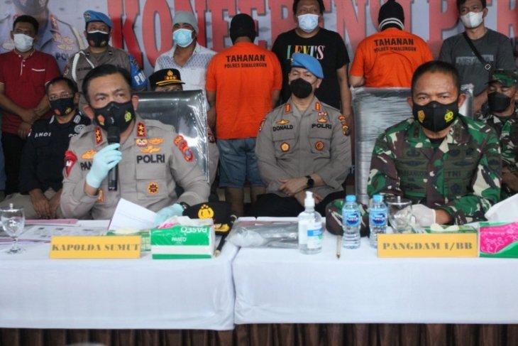 Tiga pelaku penembakan wartawan di Simalungun ditangkap, satu oknum anggota TNI
