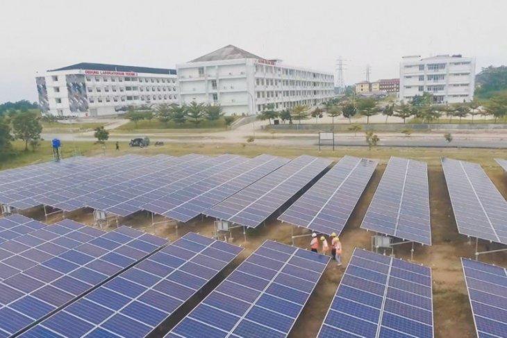 PLTS Itera jadi percontohan pengembangan energi terbarukan nasional