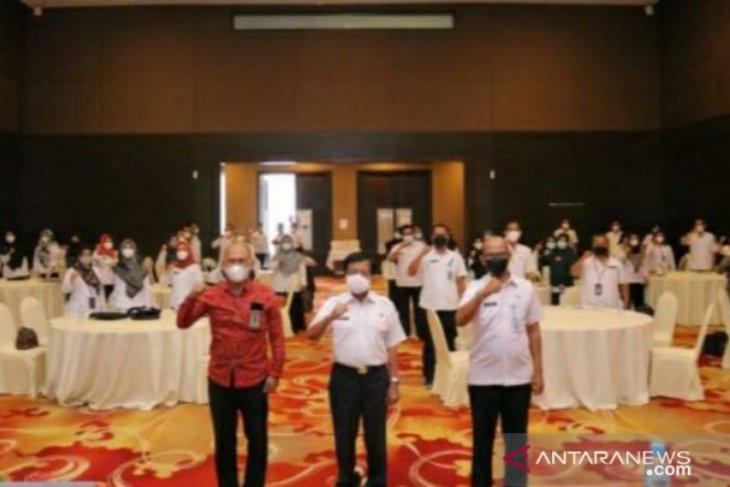 56 pejabat ikut Bimtek peningkatan pelayanan Administrasi Kependudukan