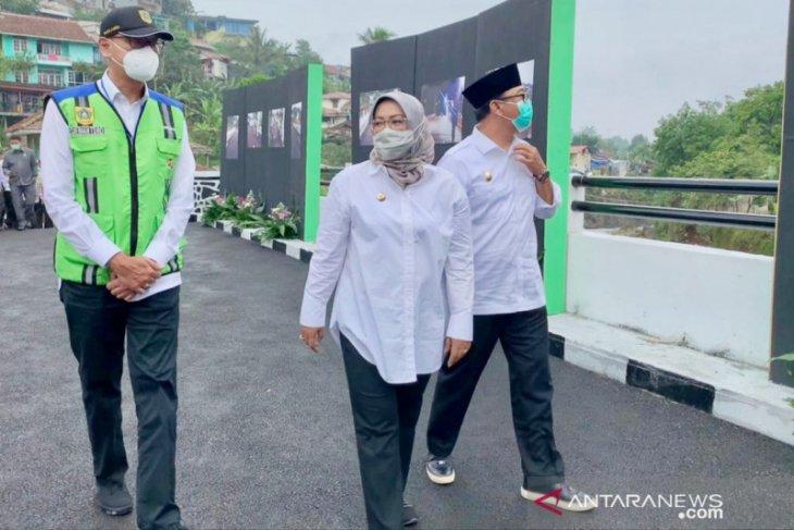 Kabupaten Bogor sukses bangun 23 jembatan selama tahun 2020