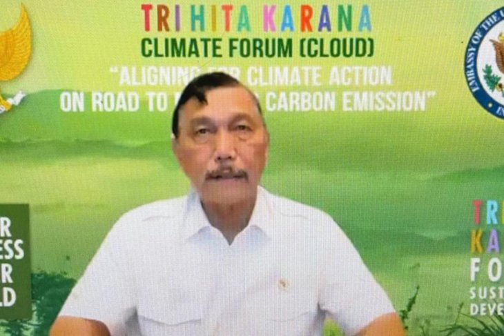 Minister hails US support to Indonesia for zero carbon emissions