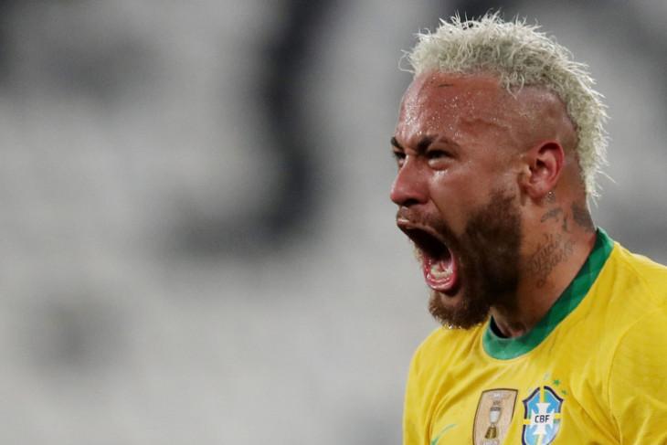 Neymar  ingin Brazil bertemu Argentina di final Copa America