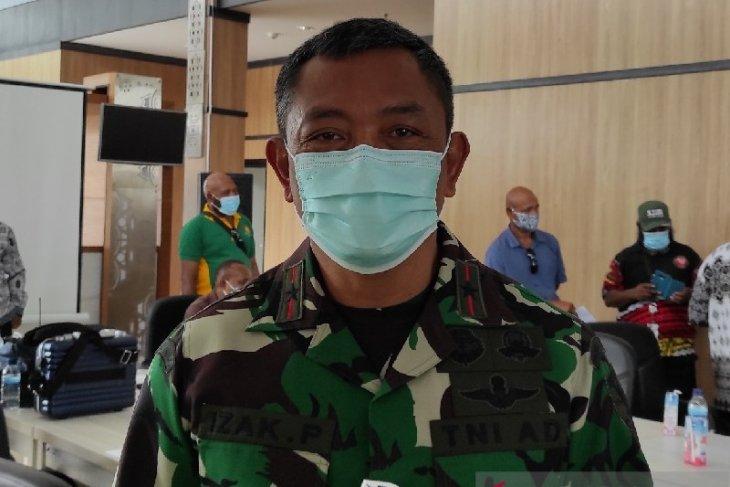 Jenazah empat korban penembakan KSB di Papua dievakuasi dari lokasi kejadian