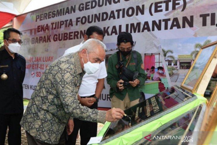 Gubernur Kaltim resmikan tiga sekolah CSR di Kutai Timur