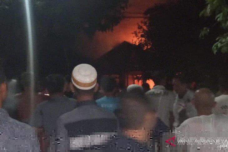Kebakaran di Sungai Pinang Nagara hanguskan satu rumah