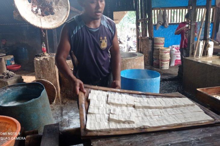 Perajin tahu di Kabupaten Lebak minta subsidi harga kedelai