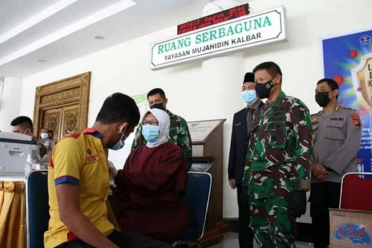 Pangdam XII/Tanjungpura ajak masyarakat sukseskan vaksinasi massal