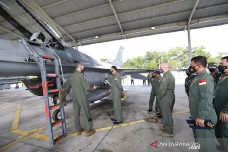 Air Force Chief witnesses Indonesian-US joint exercise