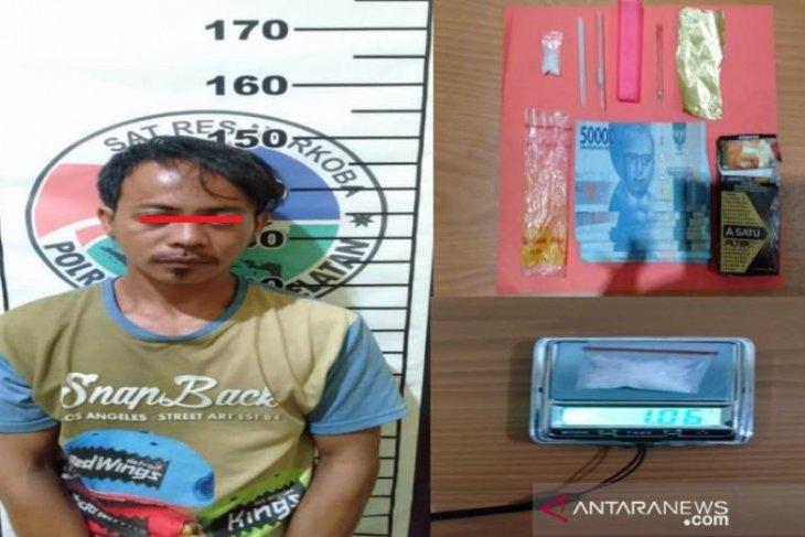 Polres Bangka Selatan tangkap petani pelaku narkotika