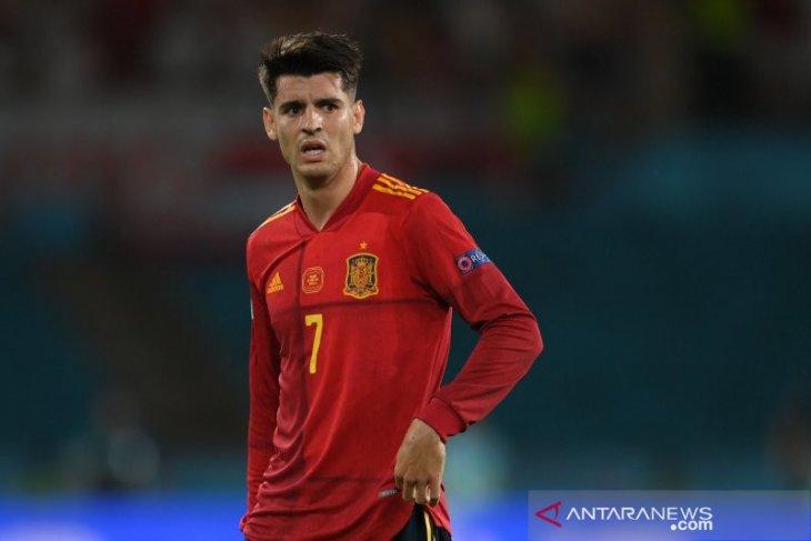 Tampil tak meyakinkan selama Euro 2020, keluarga Alvaro Morata dikecam
