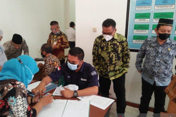Pemkab Pandeglang gandeng BNN tes urine terhadap ASN