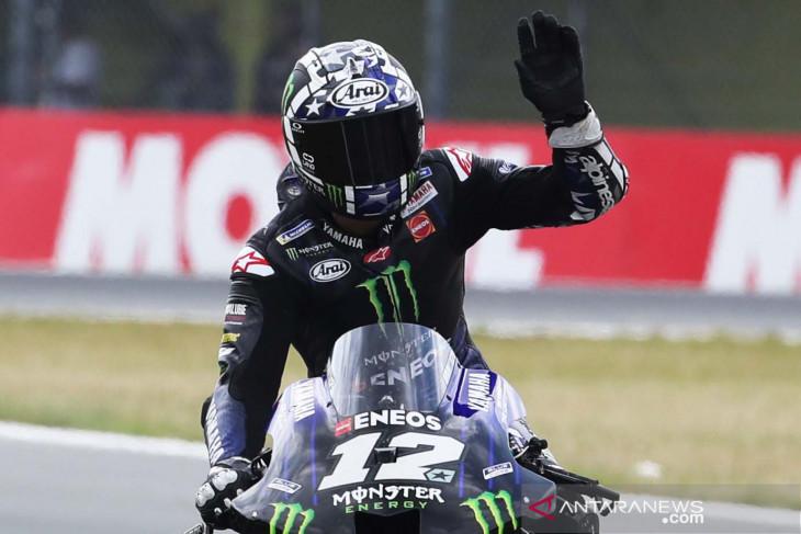 MotoGP: Yamaha tak akan turunkan Vinales di GP Austria