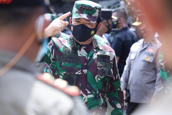 Panglima TNI sebut penanganan COVID-19 butuh kolaborasi
