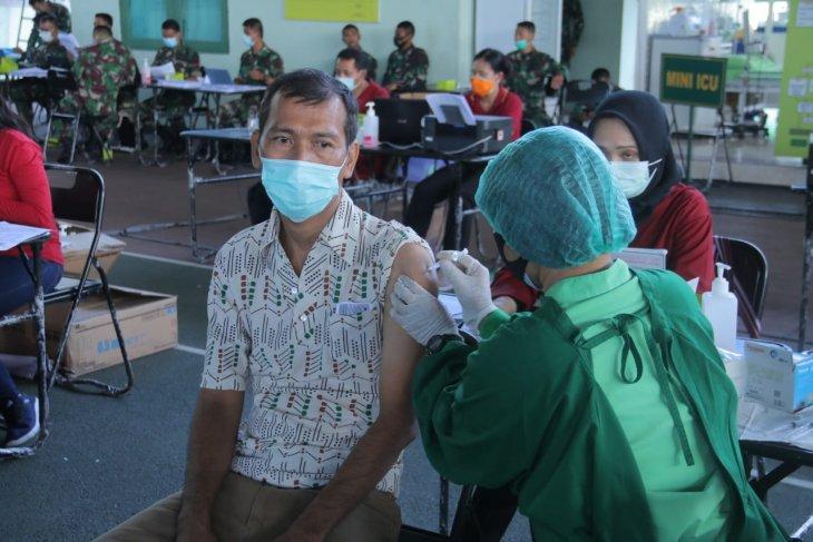 Kodam IX hadirkan vaksinasi rekreasi percepat target 1.000 per hari