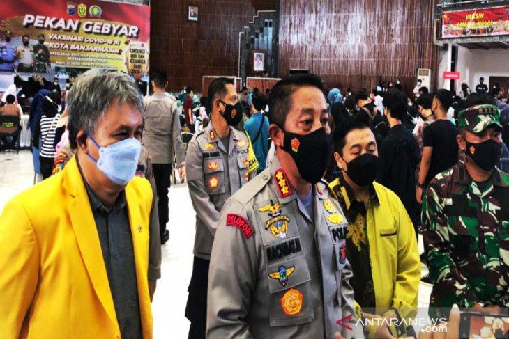 6.600 warga Kota Banjarmasin divaksin dalam pekan gebyar vaksinasi COVID-19