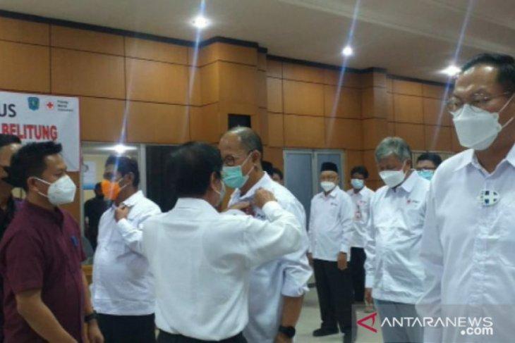 Wagub Babel lantik pengurus PMI Belitung masa bakti 2021-2026