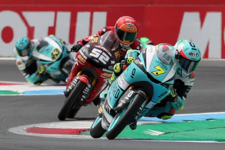 Moto3 - Foggia juara di Assen, Alcoba gagal konversi pole Indonesian Racing