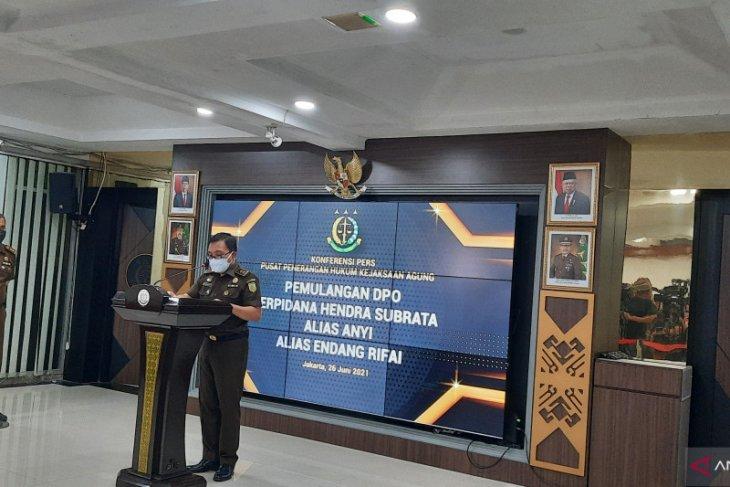 Kejagung eksekusi buronan Hendra Subrata  ke Rutan Salemba