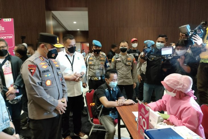 Jakarta police initiates mass vaccination drives in eight places