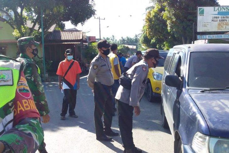Satgas COVID-19 Bahorok lakukan penyekatan menuju objek wisata Bukit Lawang