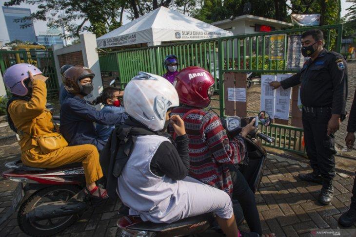Kasus COVID-19 di Jakarta kembali tertinggi