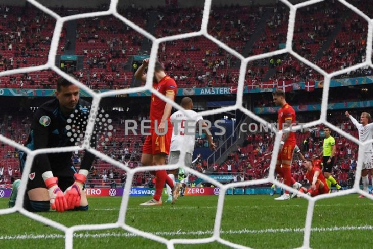 Dolberg bawa Denmark ungguli Wales  sementara 2-0