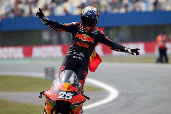 Raul Fernandez juarai GP Belanda, Pertamina Mandalika raih poin ganda