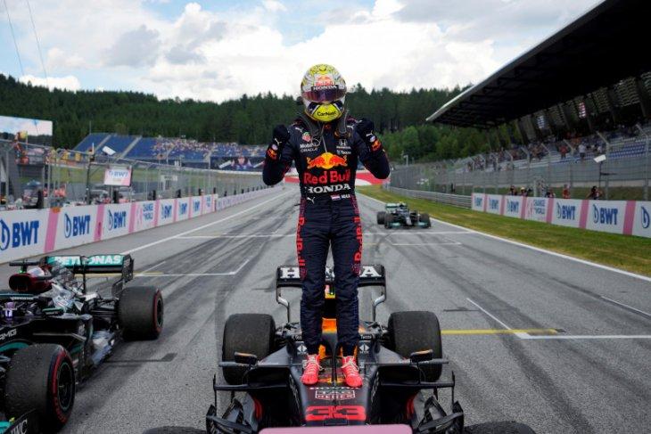 Verstappen juara F1 GP Stryria untuk perlebar jarak di klasemen