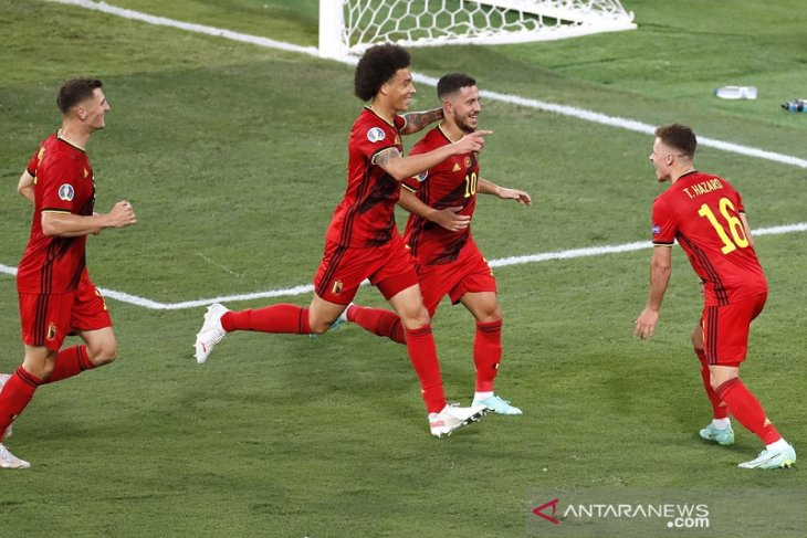 Euro 2020, Belgia pastikan Portugal gagal pertahankan gelar juara Piala Eropa