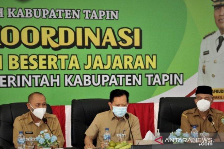 Bupati Tapin tak segan cabut jabatan para SKPD yang tidak mengerti SAKIP