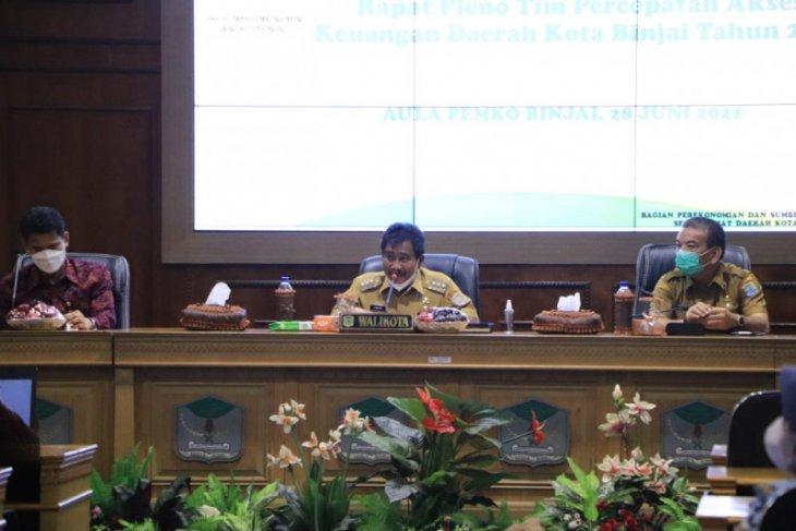 Wali Kota Amir Hamzah buka pleno TPAKD