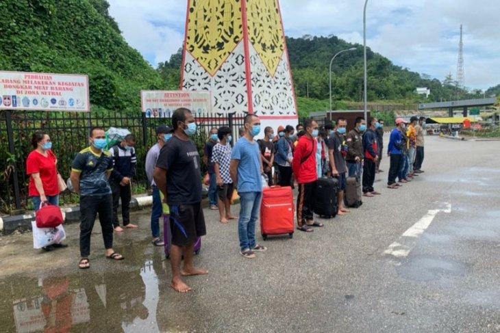 KJRI di Kuching bantu pemulangan 32 WNI melalui PLBN Entikong