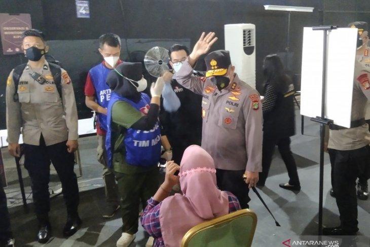 Polda Metro Jaya targetkan vaksin 1.000 orang per hari di SCBD