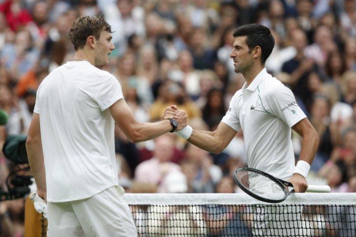 Wimbledon: Djokovic atasi kejutan awal dari petenis muda Jack Draper