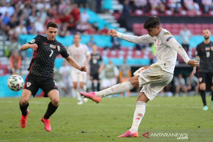 Alvaro Morata akhirnya bungkam semua kritik
