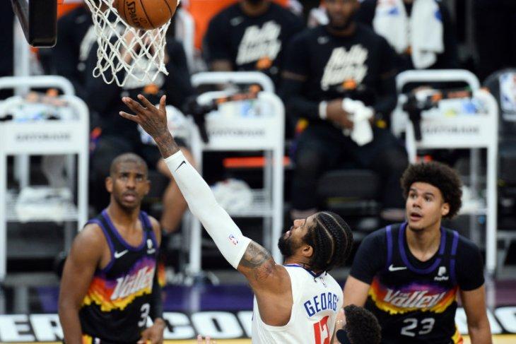 Basket NBA - 41 poin Paul George hidupkan asa LA Clippers