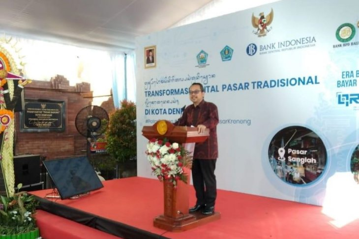 BI perluas layanan digital di pasar tradisional di Denpasar (video)